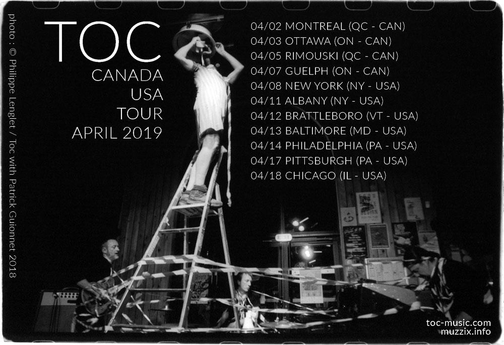 TOC | Free hypnotic pop punk, post-rock, jazz-core